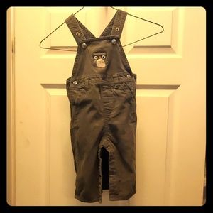 Kid toddler owl overalls